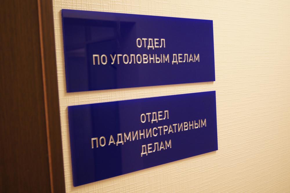 Отделы по уголовным и административным делам
